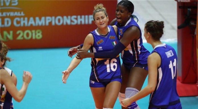 Volley, mondiale femminile: l'Italia travolge anche la Thailandia