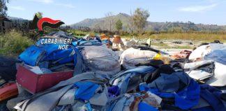 Pozzuoli, scoperta area piena di rifiuti speciali pericolosi