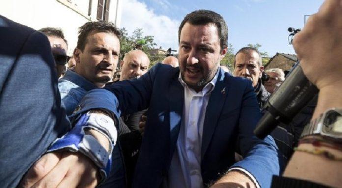 Afragola, il ministro dell'Interno Salvini incontra il sindaco Grillo