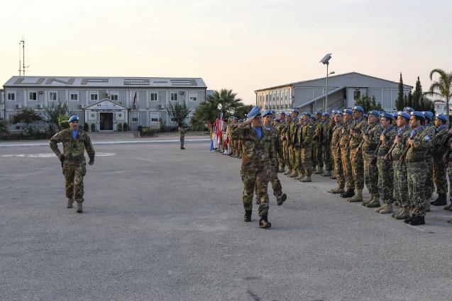 Missione UNIFIL: cambio al Combat Service Battalion JTFL-SW