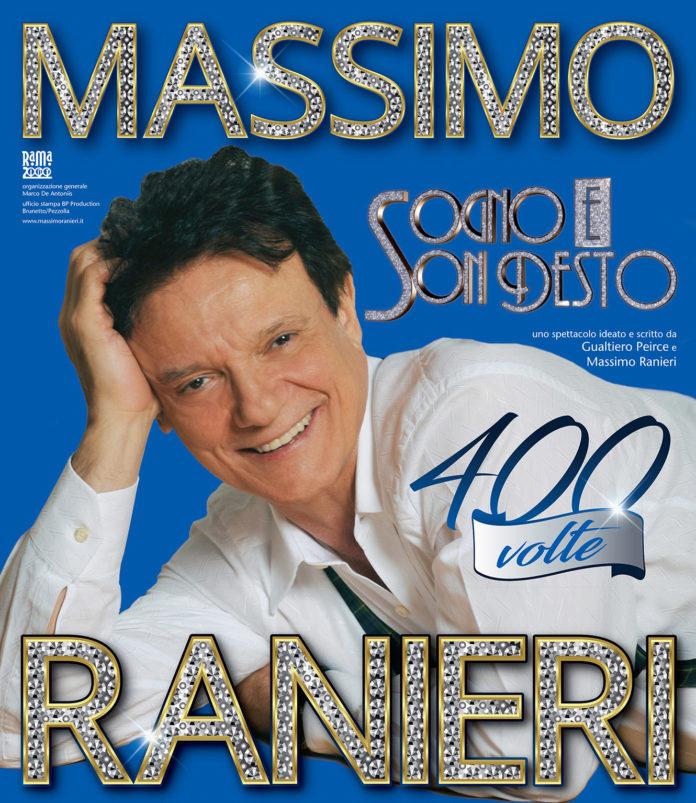 Massimo Ranieri in scena al teatro Augusteo con