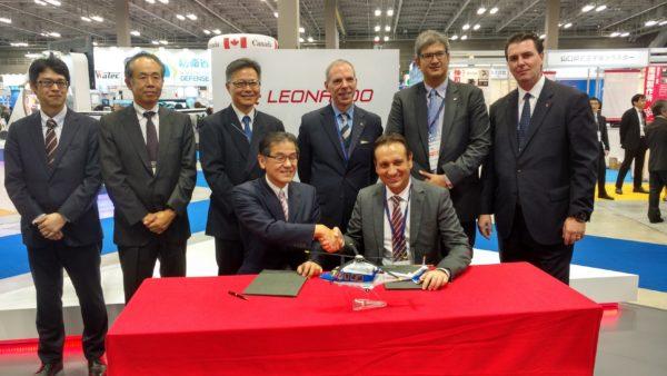 Leonardo e la Mitsui Bussan Aerospace firmano un contratto per quattro elicotteri