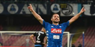 "Calcio Napoli, Mertens: ""Qui è casa mia, puntiamo all'Europa League"""