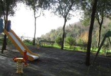 Inaugurata ai Camaldoli una nuova area verde attrezzata con giochi per bambini
