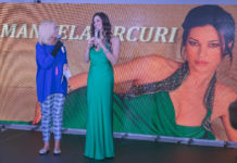 Manuela Arcuri testimonial per l'associazione La Nostra Famiglia Onlus