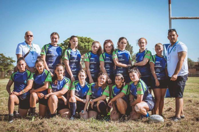 Il 'no alla violenza sulle donne' dell'Amatori Napoli Rugby con Cristina Donadio