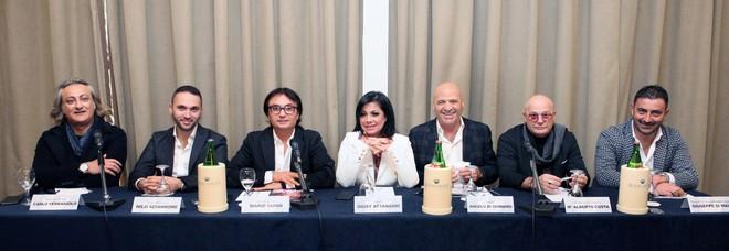 Giusy Attanasio al Palapartenope in beneficenza per l'ospedale Pausilipon