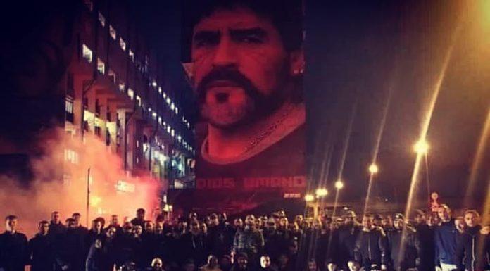 Napoli-PSG, splendido gemellaggio tra le due tifoserie