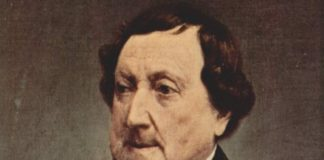 Gioachino Rossini, un francobollo nel 150mo dalla morte