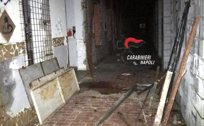 Pozzuoli, Monteruscello: rubano porte e infissi dal palazzetto dello Sport