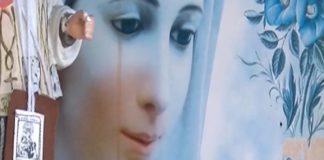 Sperone, lacrima di sangue su foto della Madonna: verifiche della Curia