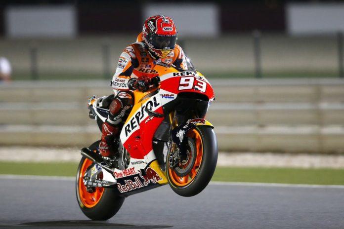 Moto GP, Gran Premio di Valencia: Marquez comanda le prove libere