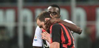 Milan, costa cara l'espulsione a Higuain: argentino squalificato per 2 turni