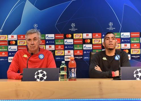 """Napoli-Stella Rossa, Ancelotti: """"Domani bisogna vincere per la qualificazione"""""""