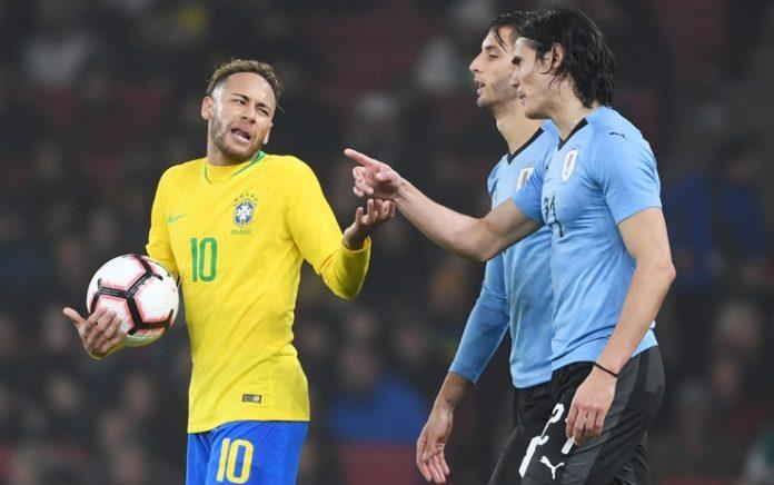 Calcio Napoli spera: Cavani-Neymar, scintille anche in nazionale