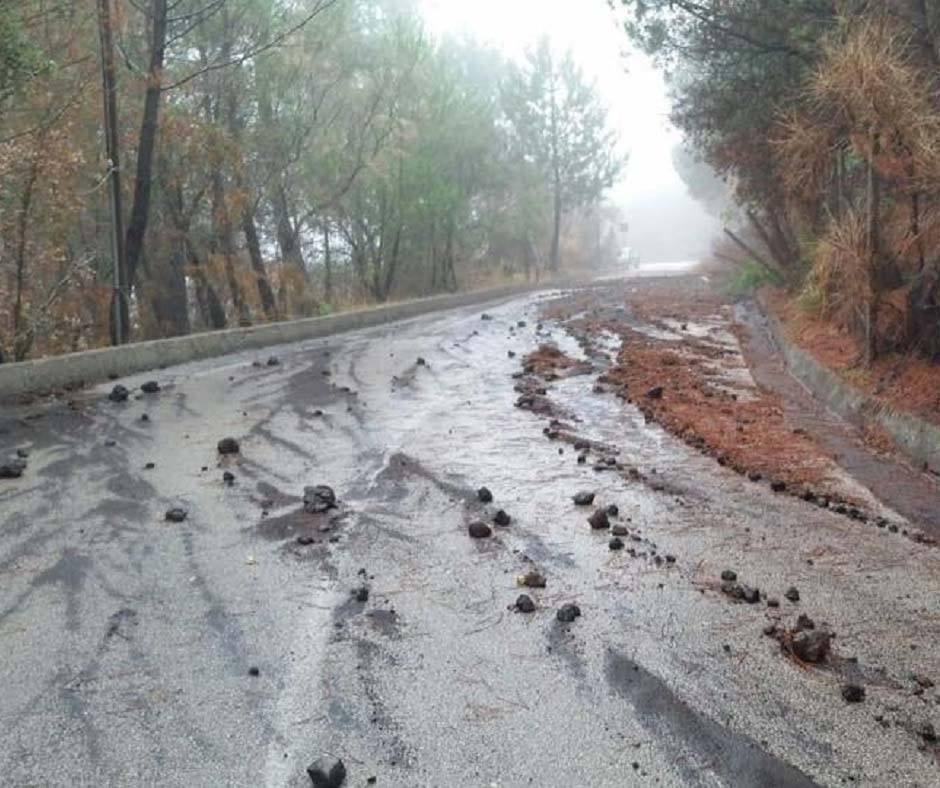 Rete Difesa Vesuvio, allarme rischio idrogeologico nell'area vesuviana