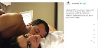 Salvini Isoardi, rottura social. L'addio consumato su Instagram
