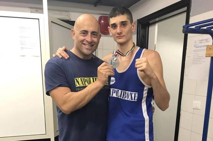 Napoliboxe, Vincenzo Terlizzi argento ai Campionati Italiani Junior