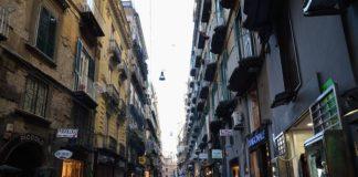 Napoli, Chiaia: cantieri nelle strade dello shopping
