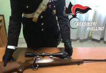 Avellino: denunciati un 50enne e il figlio per violazione in materia di armi