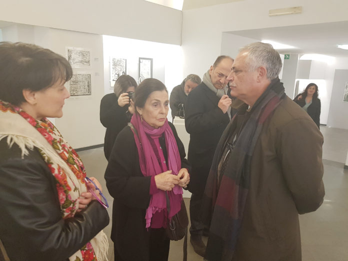 "Grande successo per la mostra ""Maria Luisa Acquaviva. Xilografie 1960/2018"""