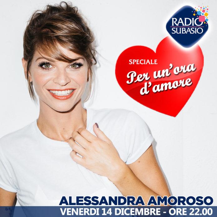 Alessandra Amoroso ospite a Radio Subasio per una serata top!