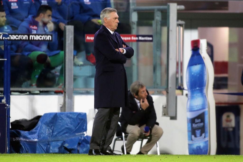 Calcio Napoli, Ancelotti: