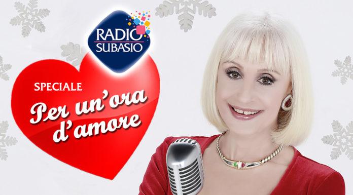 Radio Subasio: Speciale Per Un'Ora d'Amore con Raffaella Carrà