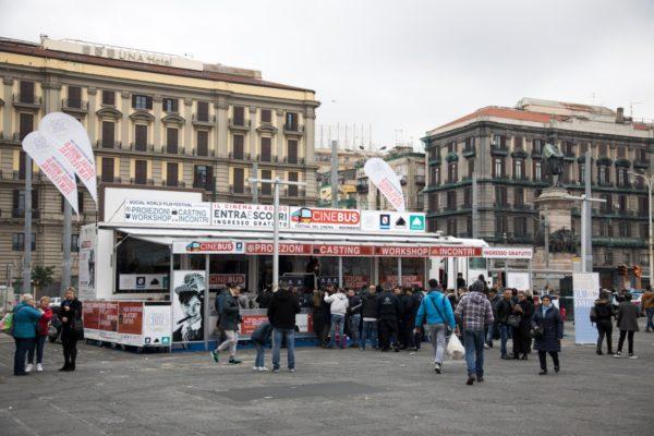 Torna a Napoli CineBus, il primo festival cinematografico on the road