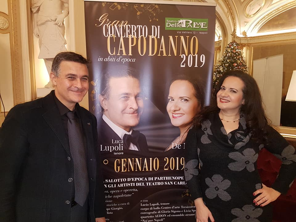 """Al Teatro Delle Palme arriva il tradizionale """"Concerto di Capodanno"""""""