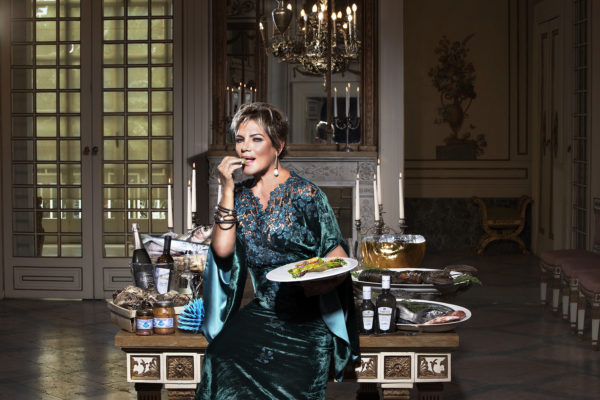 Fashion e Food il calendario di Salvio Parisi con Cristina Donadio
