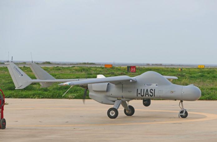 Leonardo: al via i voli del drone Falco EVO per il monitoraggio marittimo