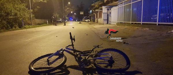 Caivano: incidente stradale mortale. Uomo in bici travolto da un'auto