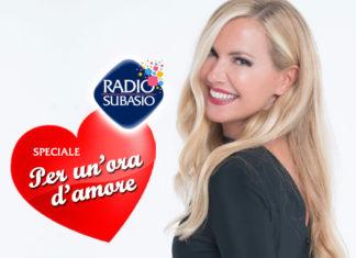 Radio Subasio: 'Speciale Per Un'Ora d'Amore' con Federica Panicucci