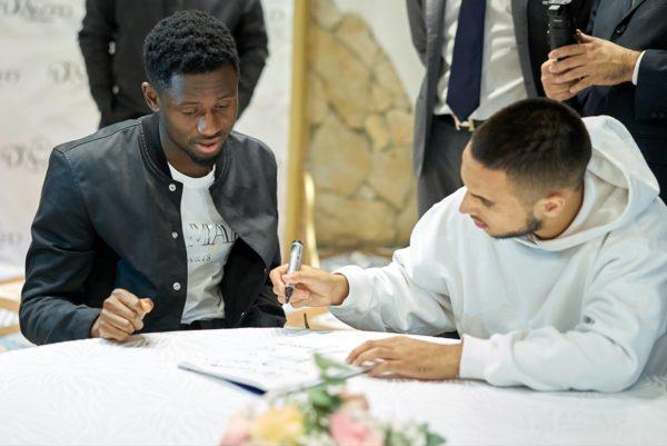 Calcio Napoli, Amadou Diawara e Adam Ounas ospiti di Sfumature D'Amore