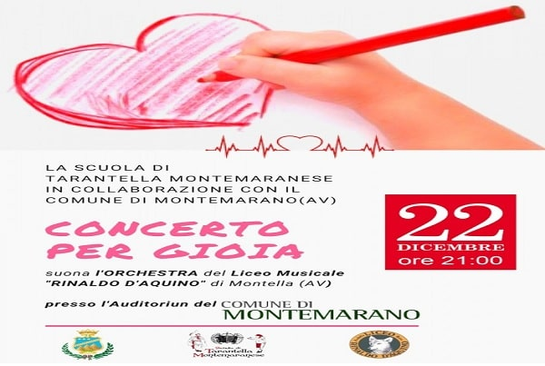 Montemarano, un concerto di solidarietà per la piccola Gioia