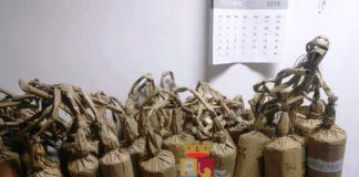 Torre del Greco: sequestrate 63 bombe da mortaio