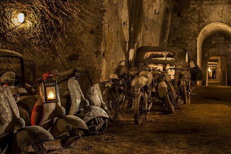 """Galleria Borbonica di Napoli: apre la nuova area sotterranea """"Le Terrazze"""""""