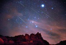 La notte delle Geminidi, sciame meteorico delle stelle cadenti d'inverno