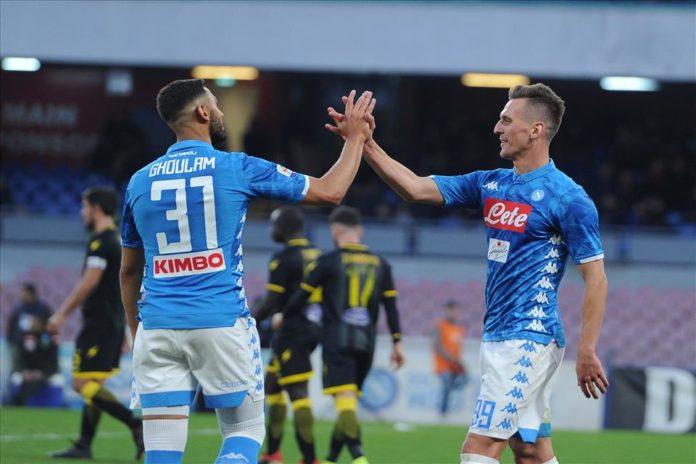 Calcio Napoli, tre esordi e quattro gol al Frosinone