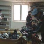 Capannone di pezzi di auto rubate scoperto a Pozzuoli