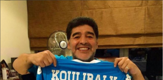 "Maradona sta con Koulibaly: ""Ricordo il razzismo contro Napoli"""