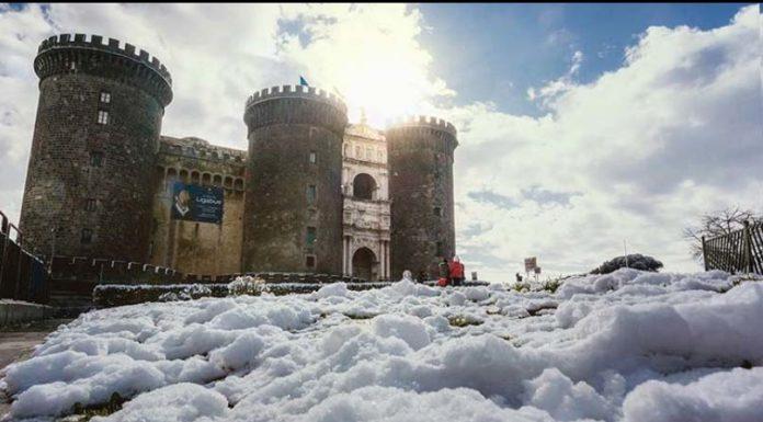 Meteo Campania, in arrivo il gelo artico con possibili nevicate