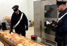 Arpino di Casoria: scoperto panificio abusivo, sequestrato pane nocivo