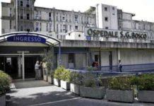 Ospedale San Giovanni Bosco senza pace: crolla soffitto in sala parto