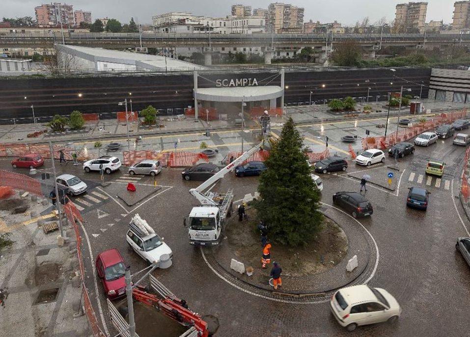 Scampia-Piscinola: inaugurata la nuova stazione della metro