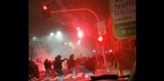 Scontri Inter-Napoli, tifoso partenopeo indagato per omicidio volontario