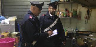Casandrino, Carabinieri sequestrano friggitoria: titolare denunciato
