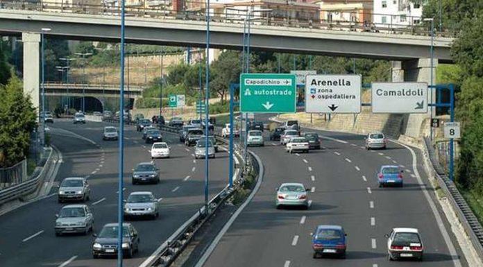 Tangenziale di Napoli, ok alla prima fase dei lavori in tre turni giornalieri