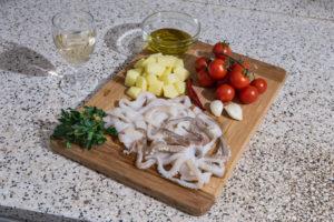 Totani e patate, una ricetta di mare e terra per le Feste di Natale